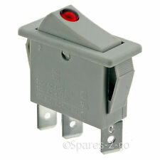 DIMPLEX Storage Heater Genuine On / Off Grey Neon Rocker Switch CXL XL BK BQ