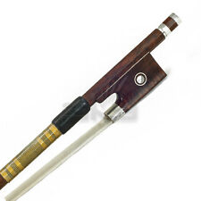 New High Quliaty 4/4 Full Size Violin Bow AA Grade SnakeWood Abalone Gold Wrap