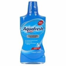 Aquafresh Extra Fresh Daily Mouthwash Fresh Mint With Fluoride 500ml