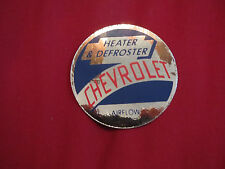 1949 – 1952 CHEVROLET TRUCK AIR FLOW HEATER / DEFROSTER IDENTIFICATION DECAL NEW