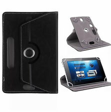 Universal 360 Rotatable Leather Stand Case Cover For 7Inch Tab Android Tablet PC