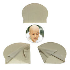 Reusable Skin Head Bald Cap Halloween Party Props Costume Dress Up Supplies New