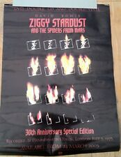 DAVID BOWIE 'Ziggy Stardust 30 years'  Shop Display POSTER 26x20 inches