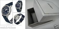 SEIKO 5 with BOX SNK807K2 AUTOMATIC military WATCH(CAL.7S26C)BLUE nylon strap