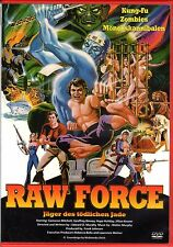 Raw Force - Kung Fu Cannibals , 100% uncut , DVD Region2 , new & sealed