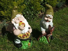 LATEX MOULD MOULDS MOLD.     GNOME WITH APPLES/ GNOME WITH DEER (2017)
