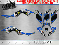 MOTOSTYLE-MX DEKOR KIT ATV YAMAHA RAPTOR 700 2006-2012 GRAPHIC KIT E3668 B