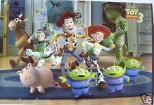 "DISNEY/PIXAR ""TOY STORY 3"" POSTER - Woody, Buzz & Characters Walking On Rug"