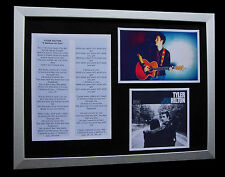 TYLER HILTON I BELIEVE IN YOU LTD TOP QUALITY CD FRAMED DISPLAY+FAST GLOBAL SHIP