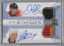 2011-12 UD The Cup JAROME IGINLA /JAY BOUWMEESTER Dual Patch Auto /35