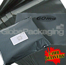 """300 x Strong GREY Postage Mailing Bags 10x14"""" **OFFER**"""