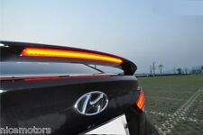 Surface emitting LED Rear Wing Spoiler For HYUNDAI Elantra/Avante MD 2011 2015+