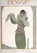 Vogue Magazine Fashion Book Print  'French Vogue  February 1923...'