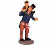 """LEMAX Decoración 'Bob Cratchit & Tiny Tim"""", Navidad Decoración De Pasteles Figura De Navidad"""
