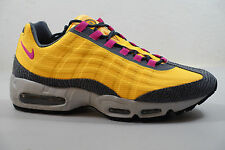 MEN'S NIKE AIR MAX 95 PRM TAPE SHOES SIZE 12 laser orange pink foil  599425 860