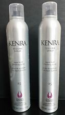 2 X KENRA Volume Spray 25 Super Hold Finishing Hair Spray 10 oz Volumizing Spray