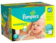 Pampers Swaddlers Baby Disposable Diapers Size 2 - 204 Units - One Month Supply