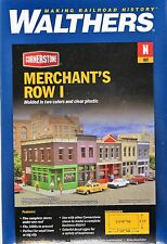 N Scale Walthers Cornerstone 933-3850 Merchant's Row I Building Kit