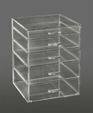 Clear Acrylic Makeup Organizer, Cosmetic Cube With 5 Drawers (A5R)