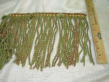 ~BTY~FRENCH TASSELS BUTTON FURNITURE TRIM 8 INCH~EMBELLISHMENT FABRIC FOR LESS~