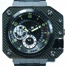 UHR-KRAFT MEN'S HELICOP CUBE,  QUARTZ ALARM, MODEL 14403/7, 10ATM