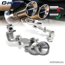 Universal Auto Turbo Sound Whistle Muffler Exhaust Pipe Blow Off Valve S