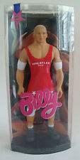 Wrestler Gay Billy Blonde Doll Red Leotard White Arm Knee Bands Boots Totem
