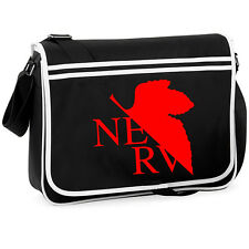 Evangelion Nerv College Street Shoulder Bag Anime Manga Cosplay