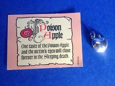 WDCC DISNEY SILVER 925 SNOW WHITE POISON APPLE  CHARM  RARE NEW