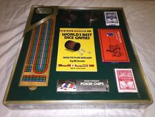 John N. Hansen Complete Game Set BIG BOX!-Dominos-Dice-Poker-Cards+MUCH MORE!WOW