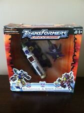 Transformers Universe SOUNDWAVE & SPACE CASE Figure NEW-Factory  Sealed-
