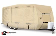 S2 Expedition Premium Travel Trailer RV Cover - fits 29' - 30' Length TAN
