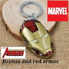 Marvel Comics IRON MAN The Avengers Shield Movie Full metal Key chain cosplay BZ