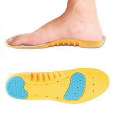Orthotic Arch Support Shoe Pad Sport Running Gel Insoles Insert Cushion Unisex
