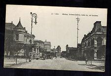 Mint Mexico City Real Picture RPPC Postcard Colonia Juarez Calle de Londres
