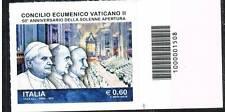 Italia 2012 Concilio ecumenico con codice a barre Mnh