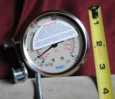 New Wika pressure gauge type 213.53