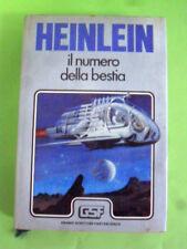 HEINLEIN. IL NUMERO DELLA BESTIA. EUROCLUB 1981