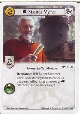 3 x Maester Vyman AGoT LCG 1.0 Game of Thrones The Winds of Winter 26