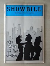 June 1985 - Roundabout Theatre Playbill w/Ticket - The Voice Of The Turtle