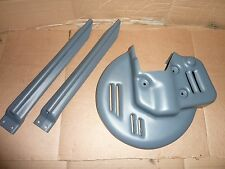 Kawasaki KX125 KX250 KX500 1989 NOS TMV Disc / Fork Guards ( Works KHI Factory )