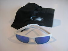 New Oakley Holbrook Sunglasses Matte White Violet Iridium OO9102-05