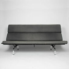 Vintage 1970's Eames Herman Miller Sofa Compact with Alexander Girard Fabric