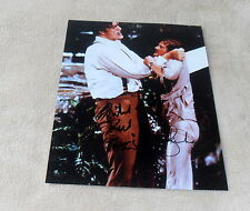 Roger Moore & Richard Kiel *James Bond*, original signiertes Foto in 20x25 cm