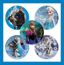 16 Frozen Olaf Anna Elsa Disney Movie Stickers Party Favors + Snowflake Tattoo