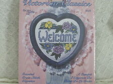 New Berlin Victorian Classics Welcome Counted Cross Stitch Kit