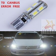2x T10 W5W Canbus Parking Light LED Bulb For For Volkswagen VW Passat B5 B6 CC