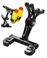 PORTA BORRACCIA DOPPIA SOTTO SELLA BICI DOUBLE BOTTLE CAGE HOLDER BIKE MTB ROAD
