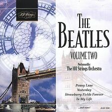 THE BEATLES VOLUME TWO - 101 STRINGS ORCHESTRA 10-Track CD 2002 BRAND NEW SEALED