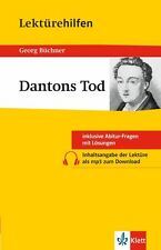 Lektürehilfen Dantons Tod von Georg Büchner (2015, Taschenbuch)